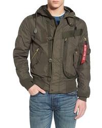 Helo water resistant bomber jacket medium 578276