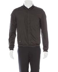 Christian Dior Ribbed Knit Bomber Jacket