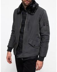 Sherpa Collar Gulf Jacket
