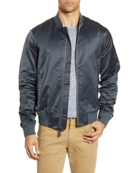 Bonobos Slim Fit Moto Bomber Jacket