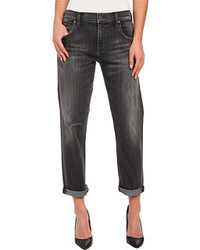 Charcoal Boyfriend Jeans