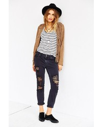 BDG Stud Slim Boyfriend Jean  Night Owl