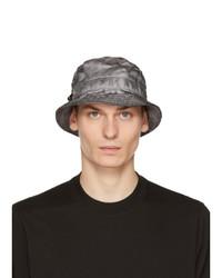 11 By Boris Bidjan Saberi Grey New Era Edition Logo Bucket Hat