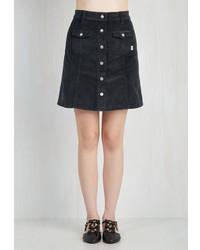 Rhythm usa llc after dinner cord ials skirt in slate medium 373871