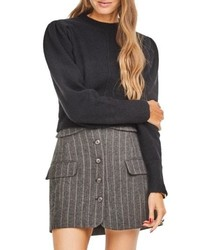ASTR the Label Wilshire Button Front Skirt