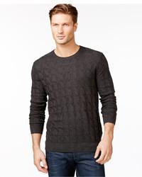 Boss Hugo Boss Criss Cross Cabled Sweater