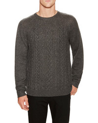 Cable Knit 100% Cashmere Sweater