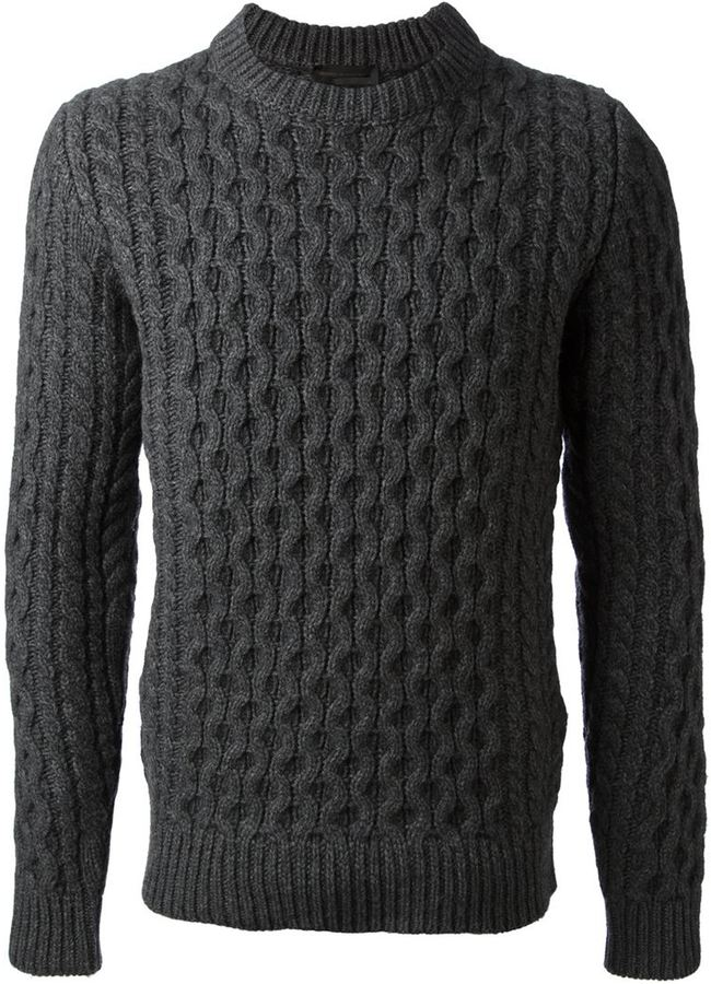 Diesel Black Gold Cable Knit Sweater | Where to buy & how to wear
