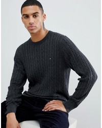 0b81b2a8adc9 Men s Charcoal Sweaters by Tommy Hilfiger