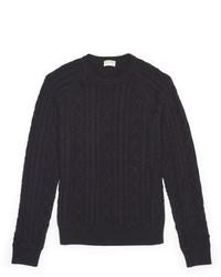 Club Monaco Cable Crewneck Sweater