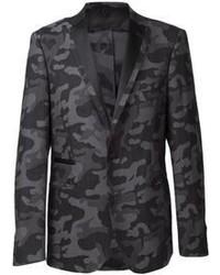 Tonello camouflage print blazer medium 63154