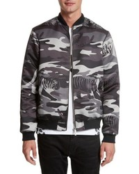 Versace Jeans Camo Tiger Bomber Jacket