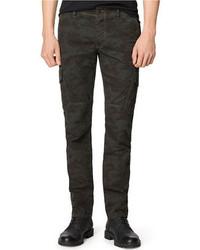 Calvin Klein Jeans Slim Straight Camo Cargo Pants