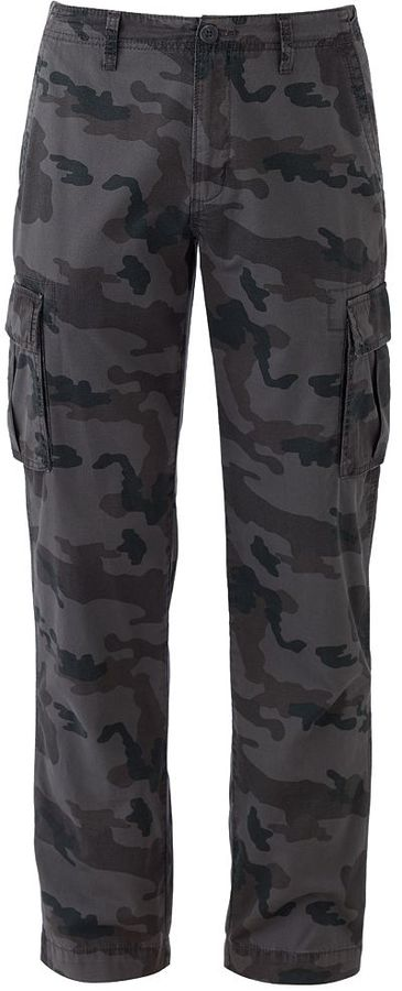 b72705583d415 Sonoma Life Style Relaxed Fit Cargo Pants, $58 | Kohl's | Lookastic.com