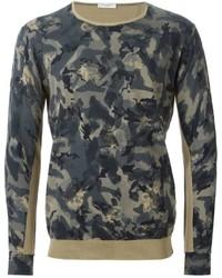 Paolo Pecora Camouflage Print Sweater