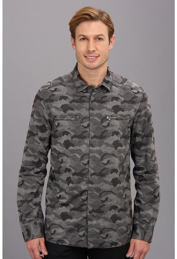 408ed2b0b Kenneth Cole Sportswear Camo Shirt Jacket, $89 | Zappos | Lookastic.com