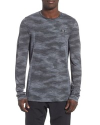 Charcoal Camouflage Long Sleeve T-Shirt