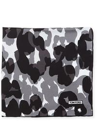 Camo print silk pocket square medium 700105