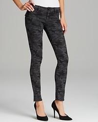 Hudson Jeans Collin Skinny In Vintage Grey Camo