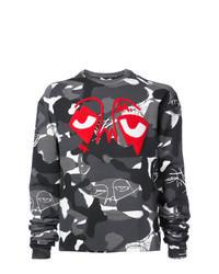 Charcoal Camouflage Sweatshirt