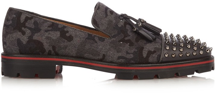 Christian Louboutin Loafers gris