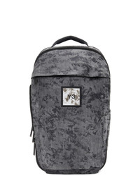 Y-3 Black And Grey Camouflage Classic Backpack