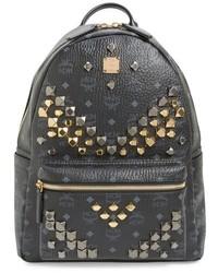 Medium stark visetos studded backpack black medium 619898