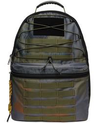 Diesel Navy Khaki Lyonel Backpack