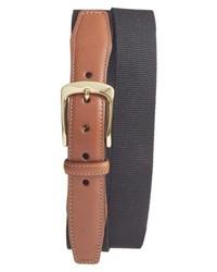 Charcoal Canvas Belt
