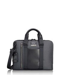 Charcoal Canvas Briefcase