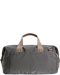 Charcoal Canvas Duffle Bag