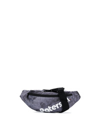 Charcoal Canvas Fanny Pack