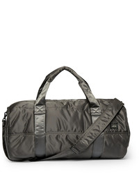 Charcoal Canvas Holdall