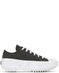 Converse Grey Run Star Hike Crater Ox Low Sneakers