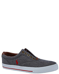 Polo Ralph Lauren Vito Laceless Slip On Sneakers