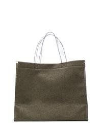 MM6 MAISON MARGIELA Transparent Handle Tote Bag