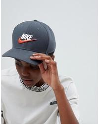 Nike Archive Swoosh Cap In Grey