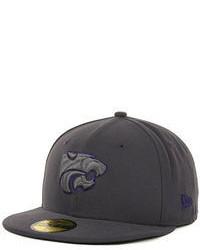 New Era Kansas State Wildcats Gray Pop 59fifty Cap