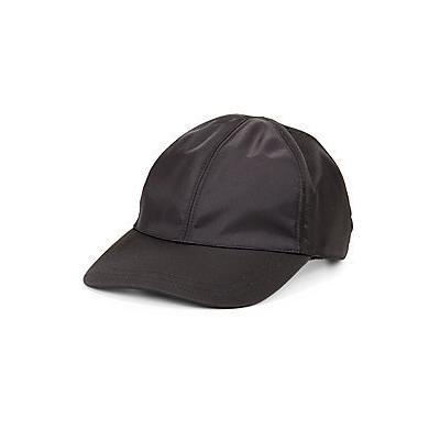 3b911214 Prada Nappa Leather Baseball Cap Black, $895 | Saks Fifth Avenue ...