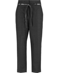 Charcoal capri pants original 2146911