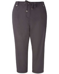 Dp curve charcoal cropped trousers medium 6870490