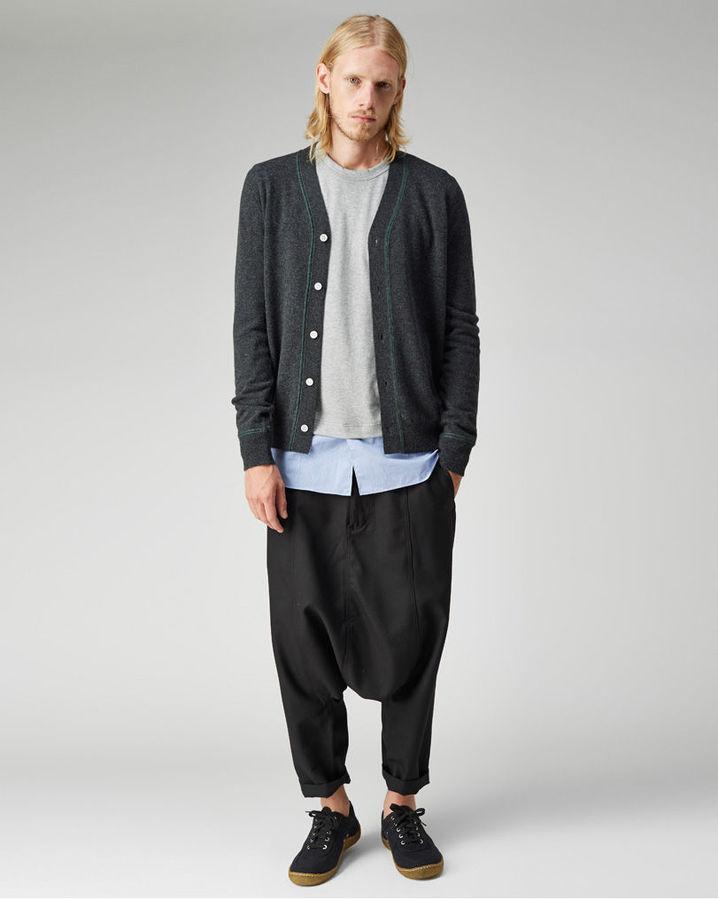 7d401f5d3ef8 Comme Des Garcons SHIRT Comme Des Garons Shirt Man Stitch Cardigan ...