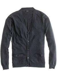 Cotton cashmere cardigan sweater medium 3446