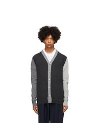 Marni Grey Colorblock Cardigan