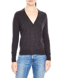 Tie back wool cashmere cardigan medium 5255790