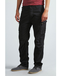 Boohoo Cotton Twill Cargo Trousers