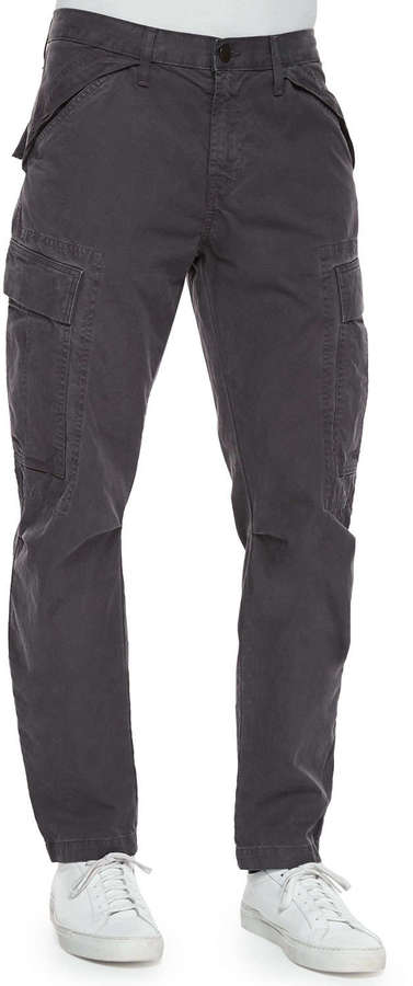 J Brand Jeans Collins Cargo Pocket Utility Jogger Pants Dark Gray ...