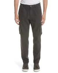 Eleventy Stretch Canvas Cargo Pants