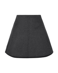 Carven Wool And Cashmere Blend Mini Skirt