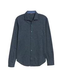 Charcoal Chambray Long Sleeve Shirt